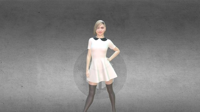3D Phogure Outfit - 1 3D Model