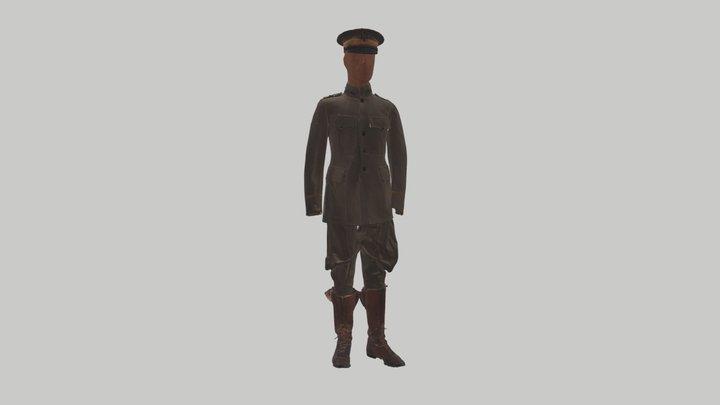 Colonel Young Field Uniform 3D Model