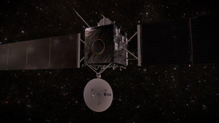 Rosetta 3D Model