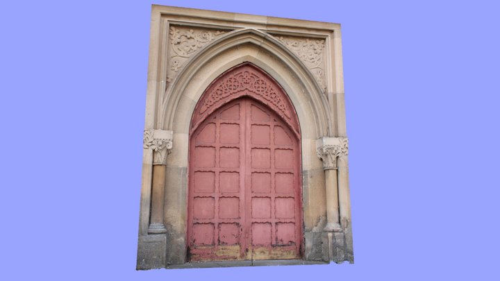 Dundee McCheyne Church doorway (from 3 photos) 3D Model