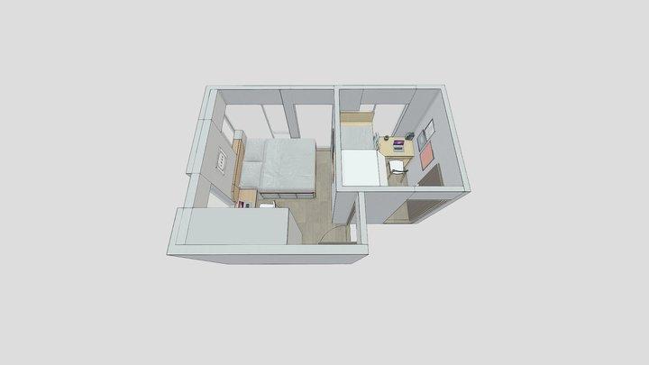 The Campton 7F 3D Model