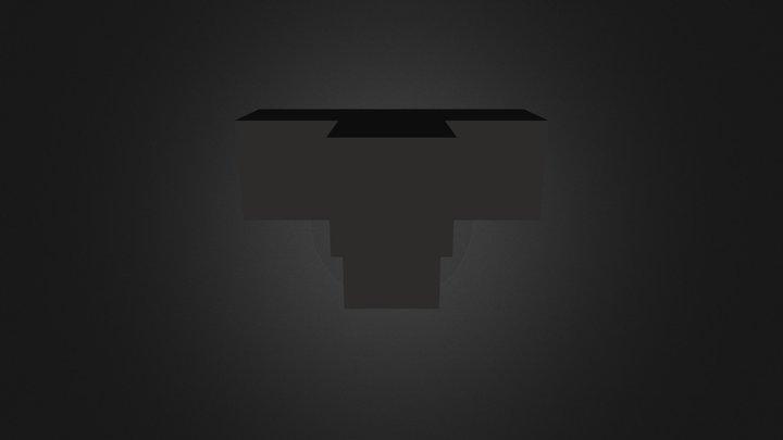 Black Piece 3D Model