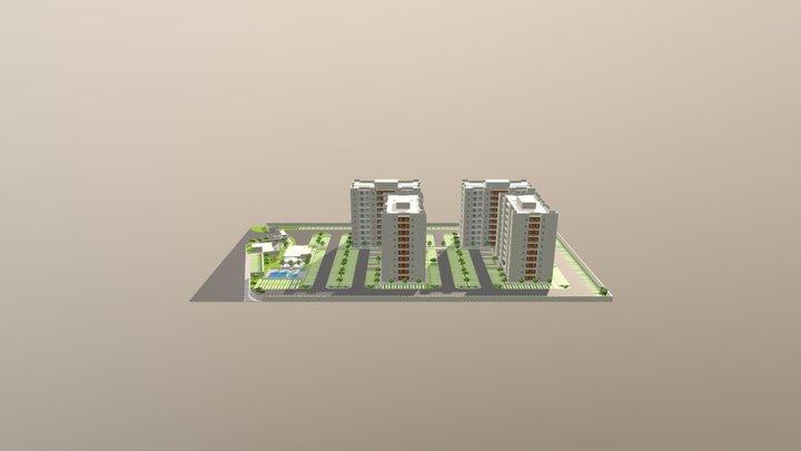 Green Life 3D Model