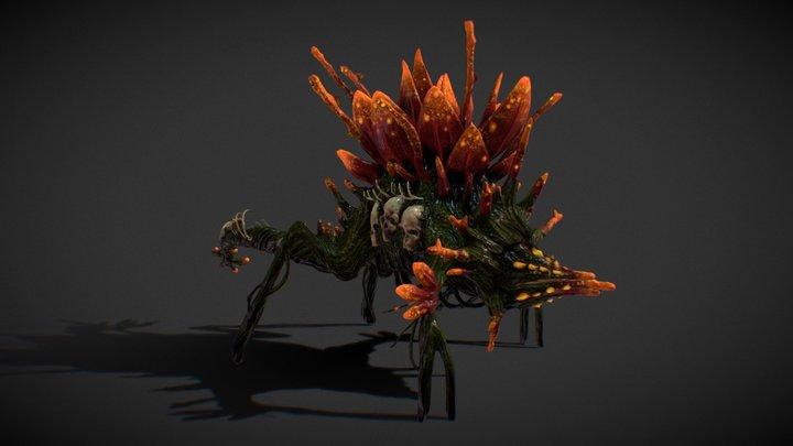 Xenoflora Hunter - Hyper Vital 3D Model
