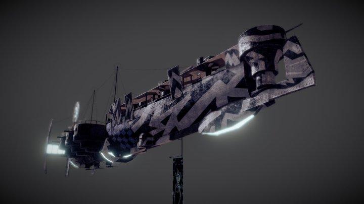 Z_gunship 3D Model