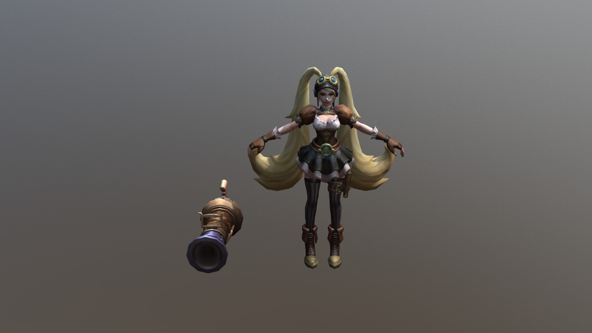 Layla Mobile Legend 3D Model By Intermezzo9