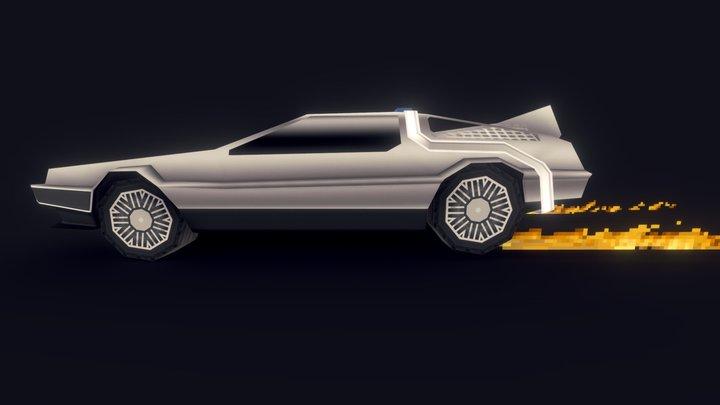 'Back to the Future Delorean' [Mapcore Contest] 3D Model