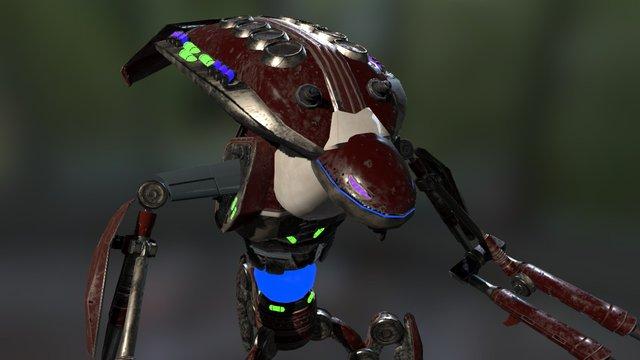 Martian_mech_V1.0 3D Model