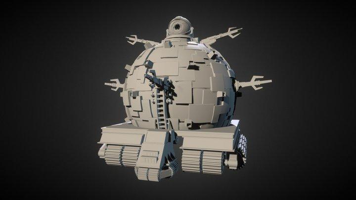 Technodrome (Teenage Mutant Ninja Turtles) 3D Model