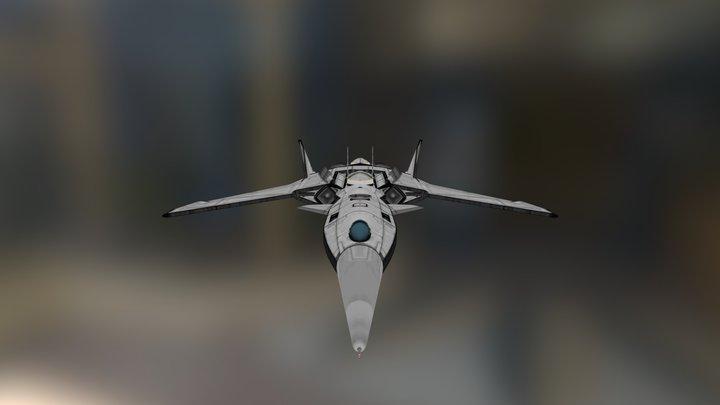 Blackbird B-X14 Blackwing 3D Model