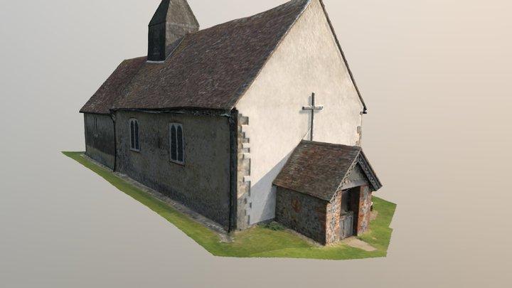 St Hubberts 3D Model