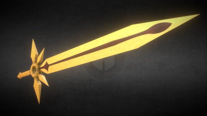 Zenith Sword 3D Model