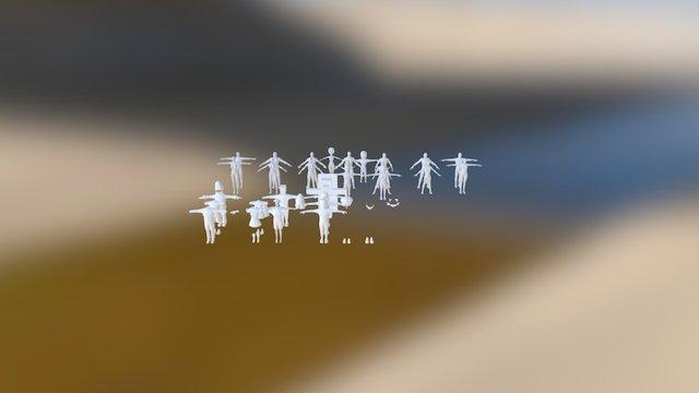Avatar Wip 3D Model