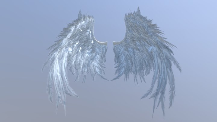 Angel-wings 3D Model