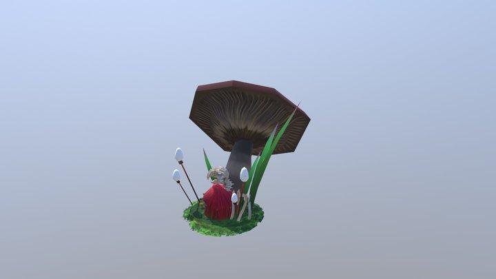 Sarah GERGAUD Tower 3D Model