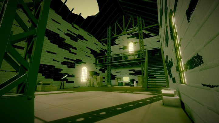 Guilty Crown Warehouse 3D Model