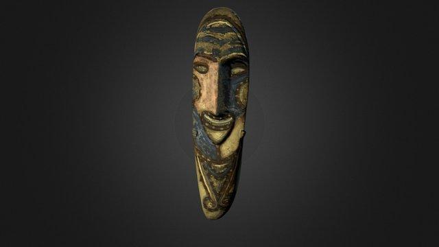 Pierre sculptée Vanuatu 3D Model
