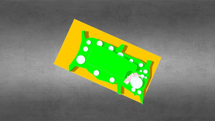 Plant Cell Structures 3D Model
