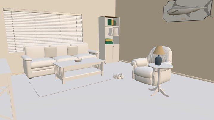 Cottage01 3D Model