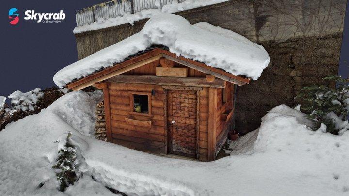 Casa in legno - Val Brembana (BG) 3D Model