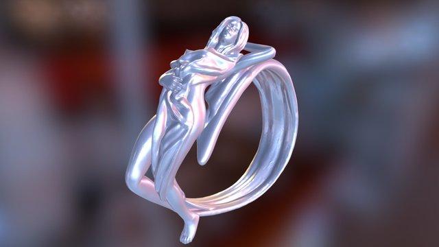 Horoscope Rings - Virgo 3D Model