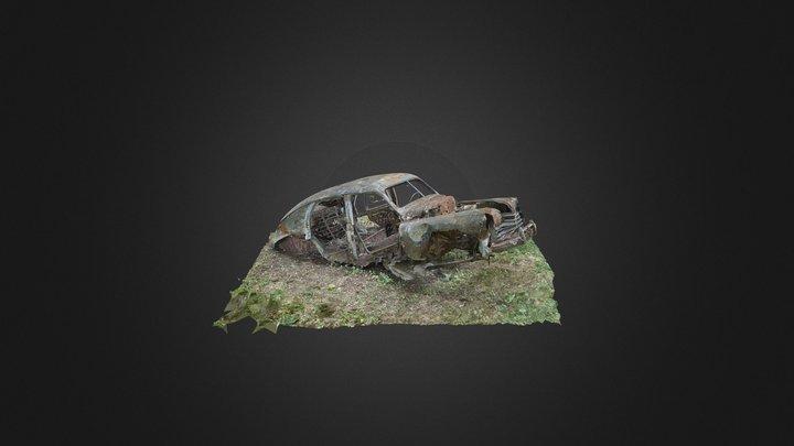 RandomLab 020 Carwreck (GAZ M20/Pobeda) 3D Model