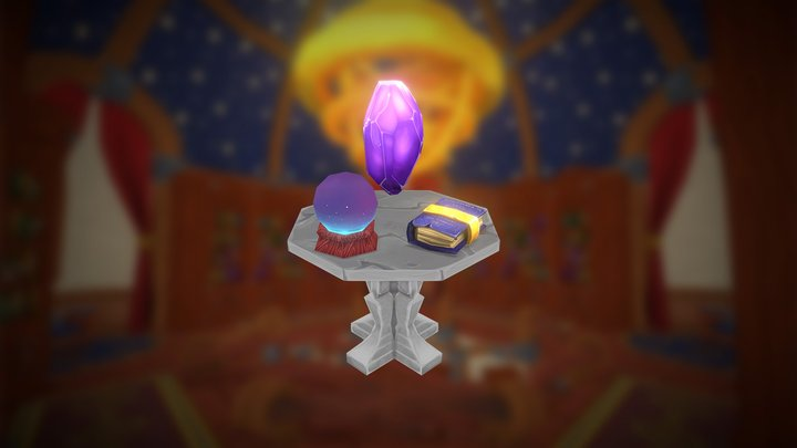 Mozilla Hubs Challenge - Magic Items 3D Model