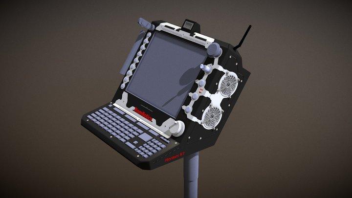 """CNC controller """"Hermes K1 v2.0"""" 3D Model"""