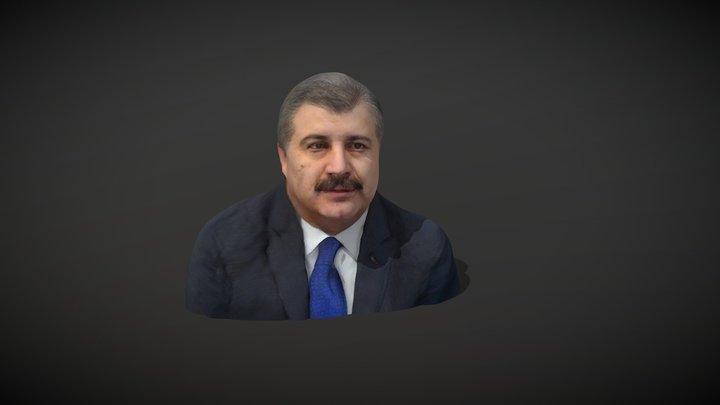 Turkey's Health Minister: Fahrettin KOCA 3D Model