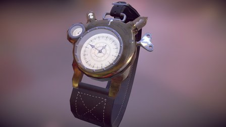 So what time is it anyway? 3D Model