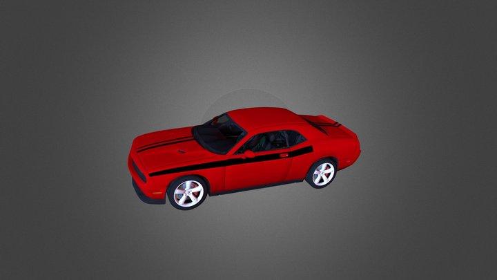 Glenn's Dodge Challenger RT 3D Model