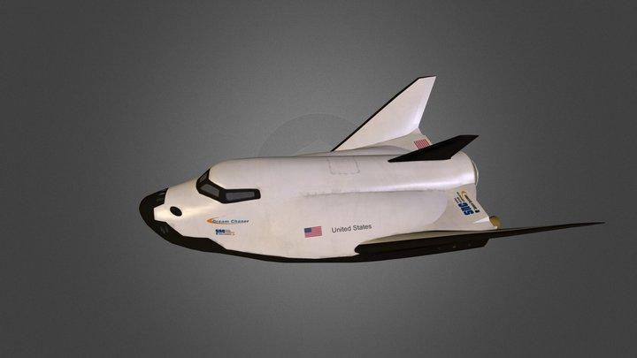 Dream Chaser 3D Model
