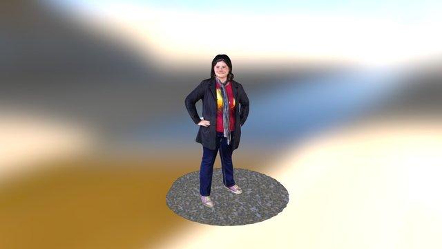 Steph Piper 3D Model