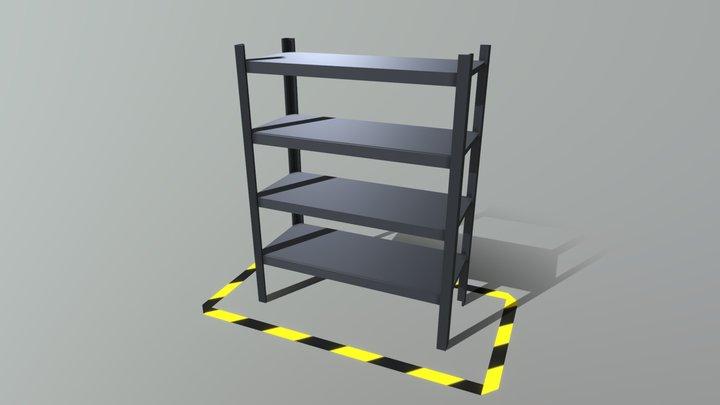 Shelf - FREE Background Prop 3D Model