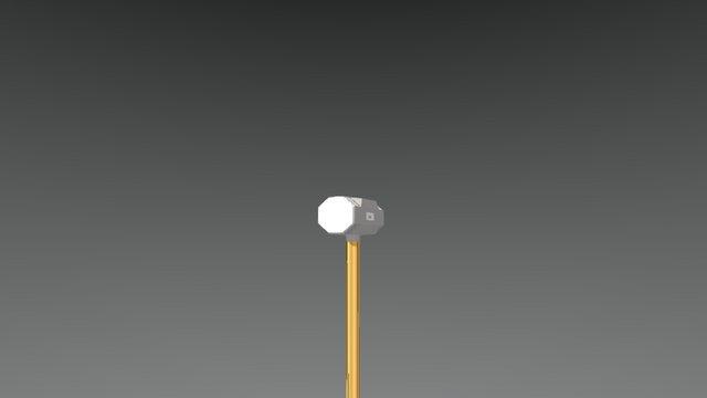 Sledge Hammer 3D Model