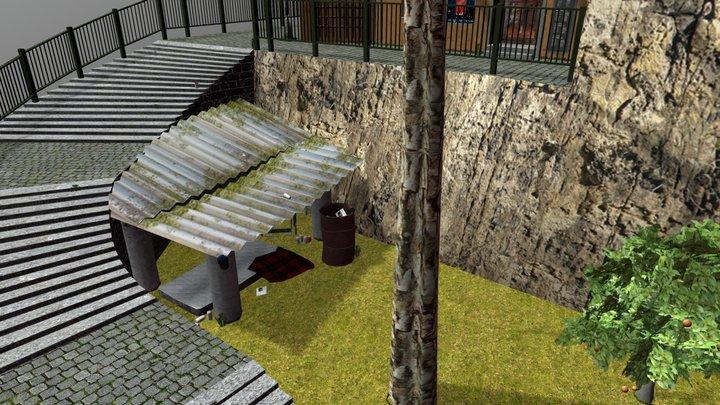 Cityscene Rome 3D Model