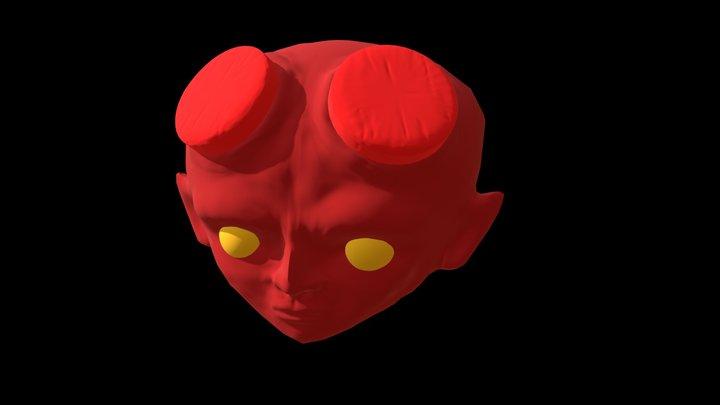 Baby Hellboy 3D Model
