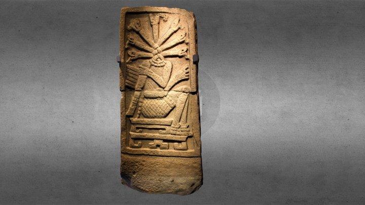 Mesoamerican Stela 3D Model