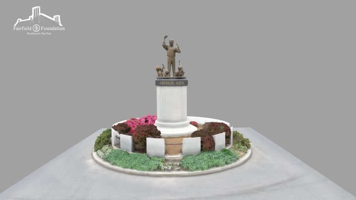 Arthur Ashe Monument 3D Model