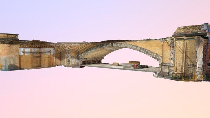 EÜ Königstraße Portal West 14.09.2018 -2 3D Model