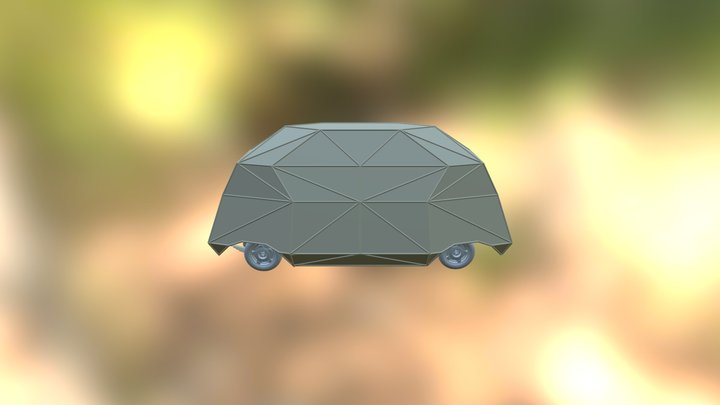 MakerBay Electric Vehicle 3D Model