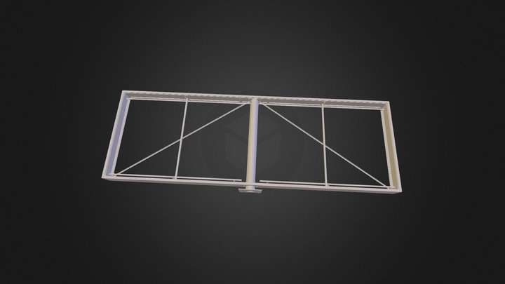 15ftx5ft_polesign_assy 3D Model