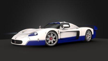Maserati MC 12 3D Model