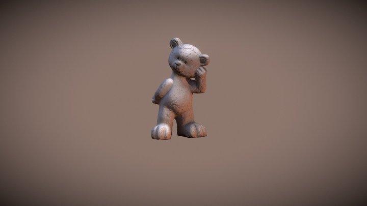 Bear Statue 3D Model