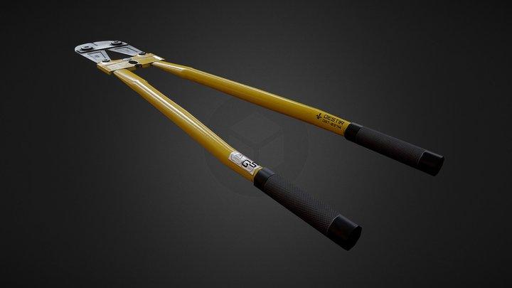 Bolt Cutter 3D Model