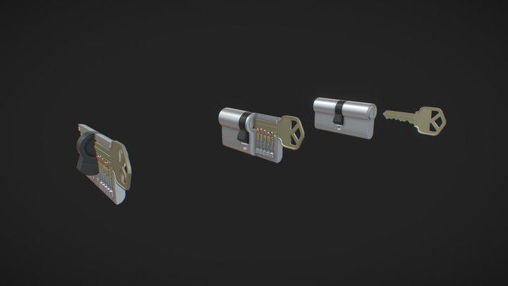 KEY | Mechanics 3D Model