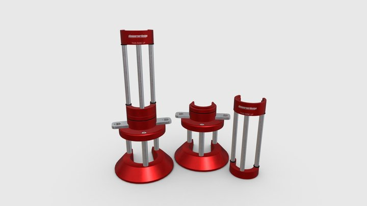 Air Jack Safety Support 3D Model