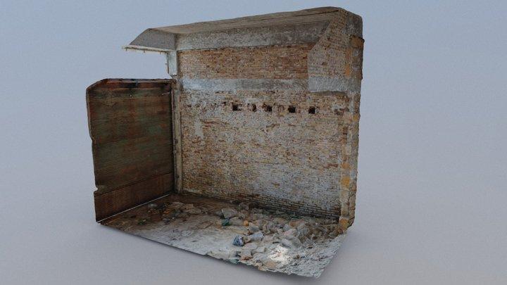 Empty Building Interior [3rd June 2020] 3D Model