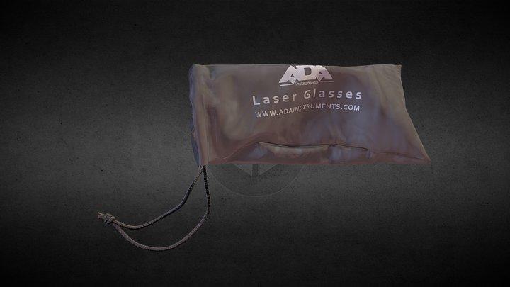 Laser glasses bag 3D Model