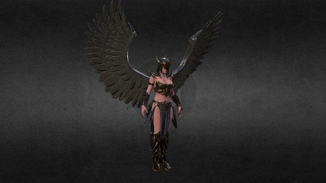 Black Valkyrie 3D Model